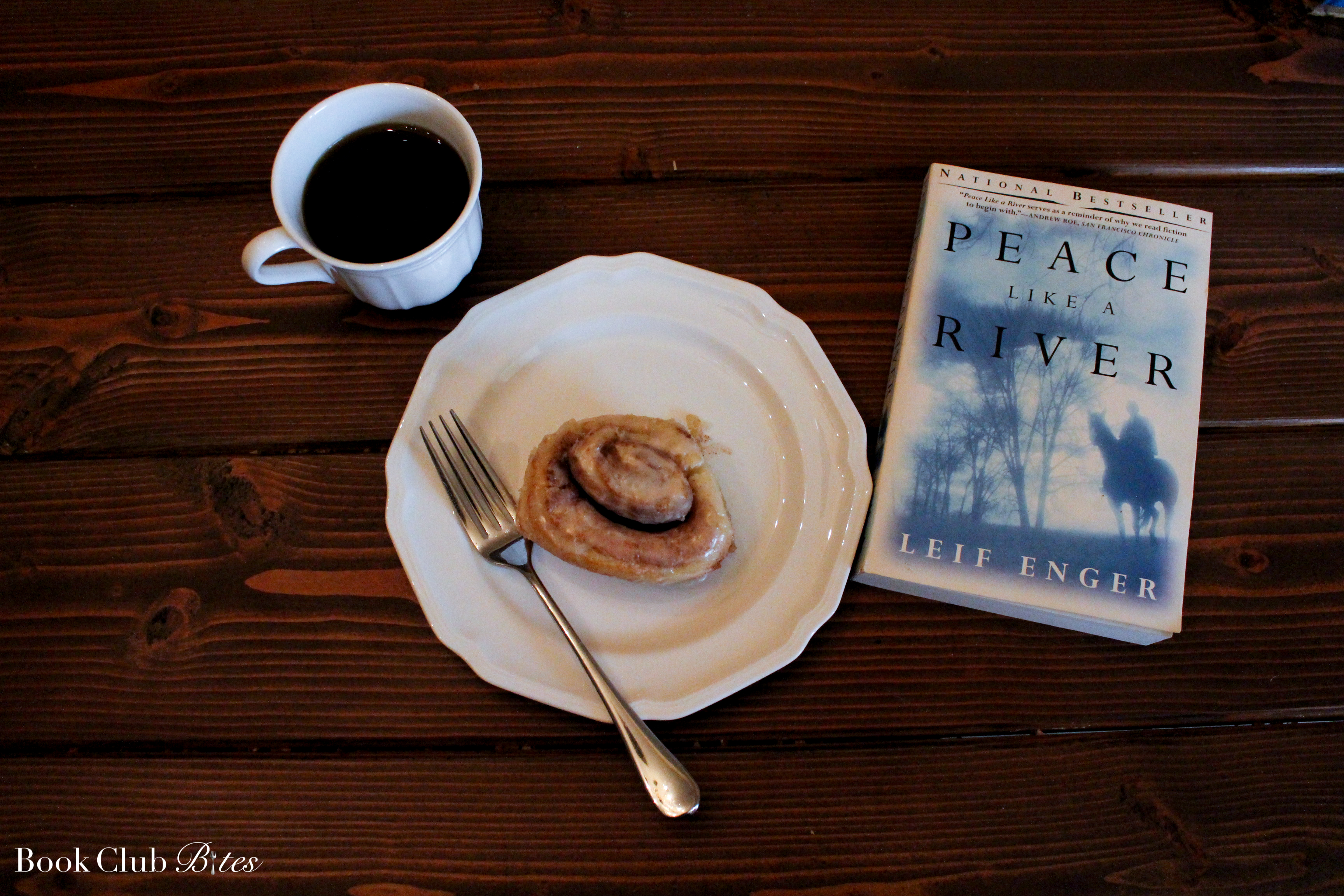 Peace Like a River Book Club Questions and Recipe Cinnamon Rolls
