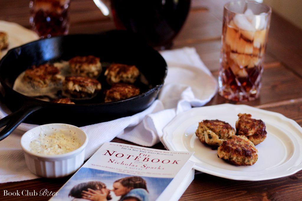 Book Club Recipe - Crab cakes!