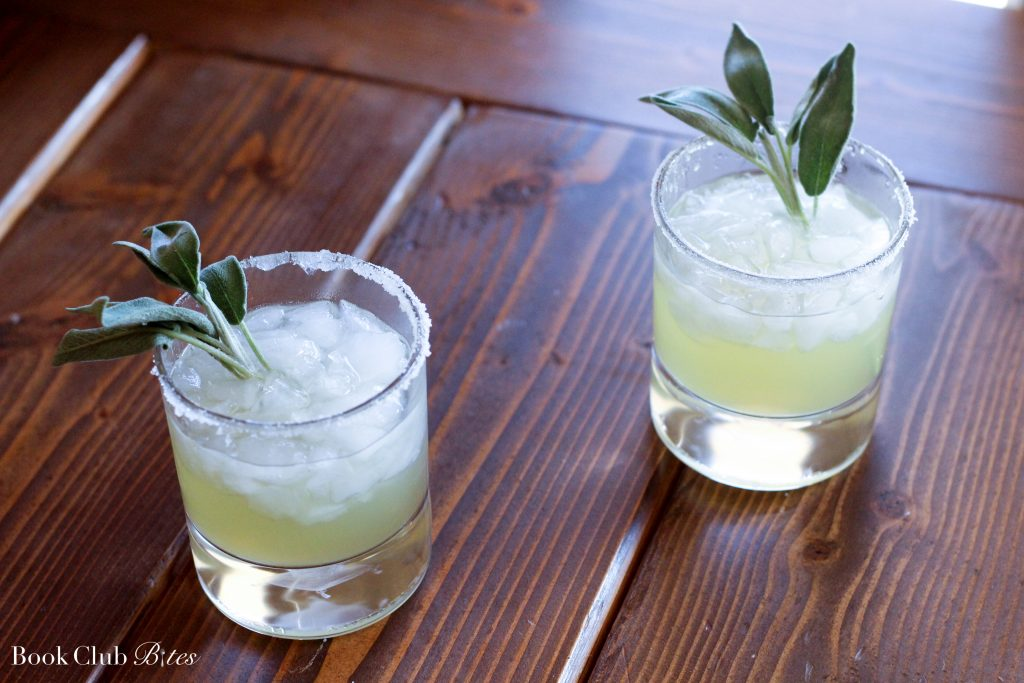The Rosie Project Book Club Questions and Recipe Sage and Pineapple Margaritas