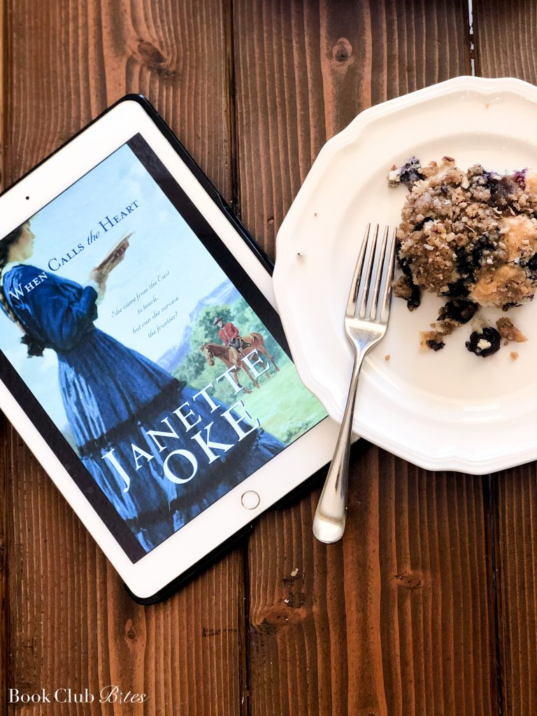 When Calls the Heart Book Club Questions and Recipe Coffee Cake