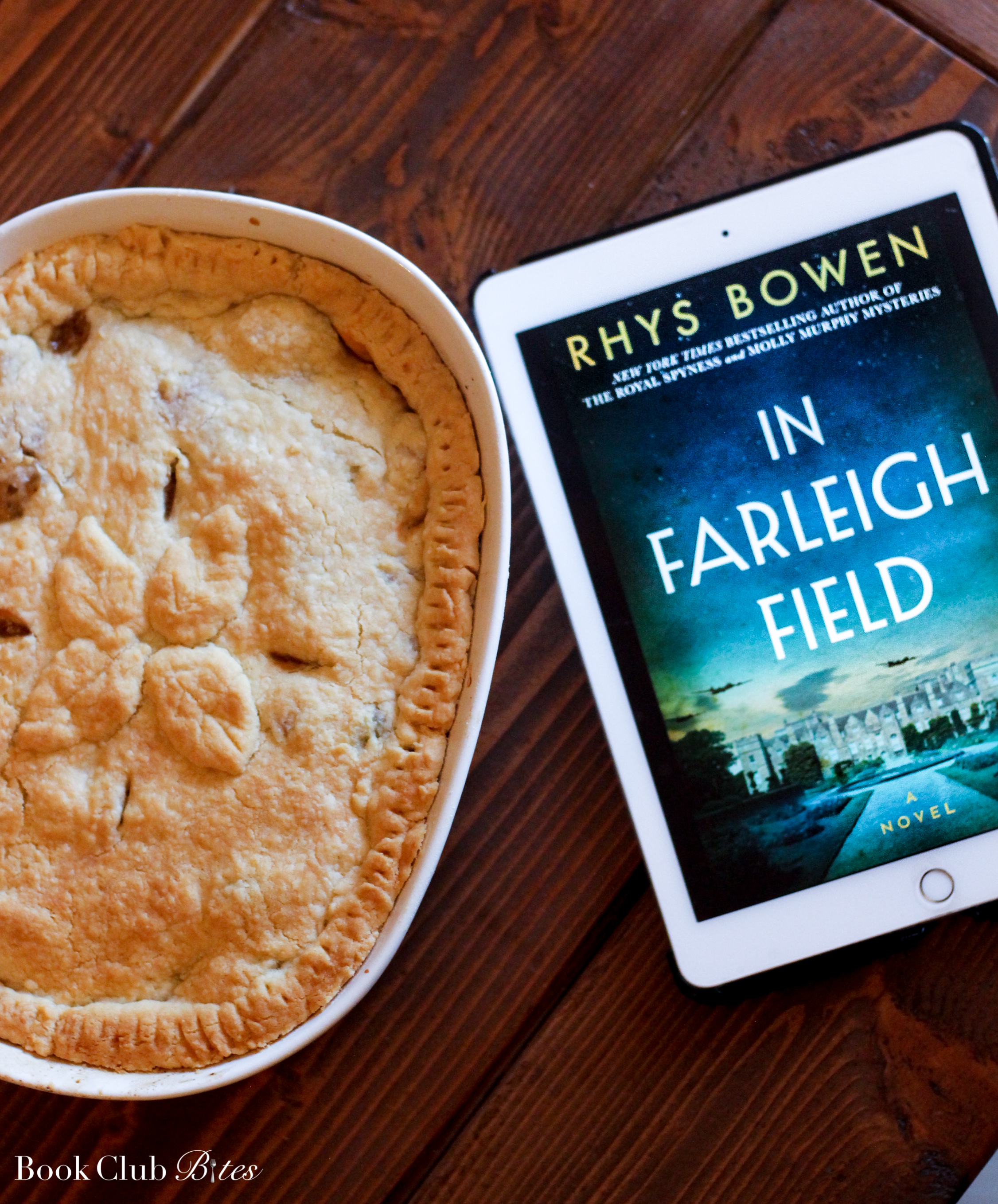 In Farleigh Field Book Club Questions and Recipe Lord Wilton Pie