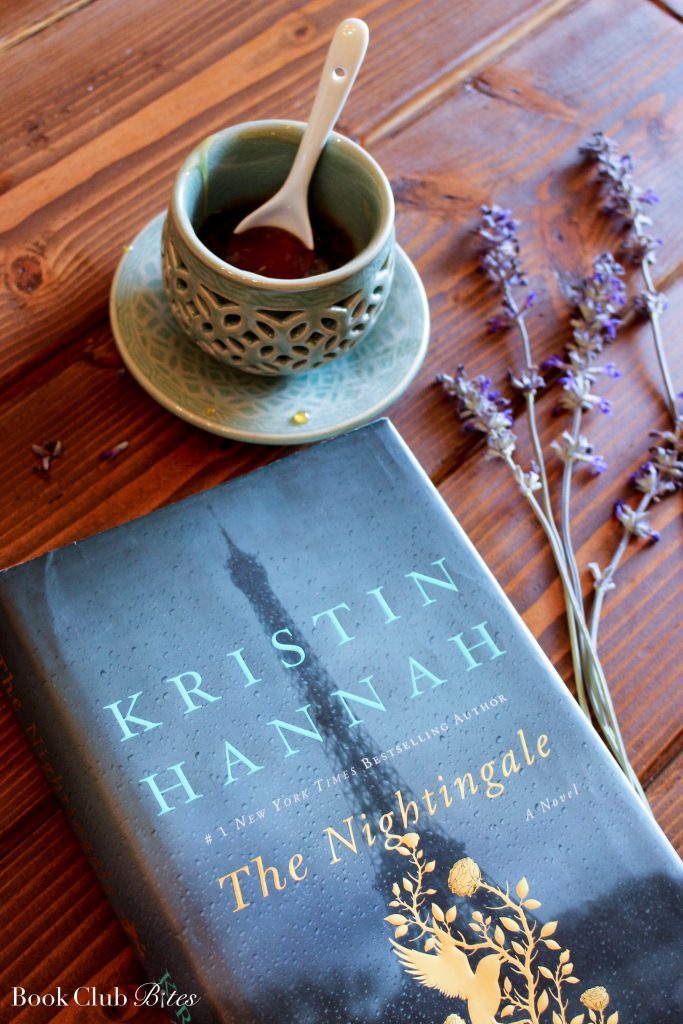 The Nightingale Book Club Questions and Recipe Lavender Honey