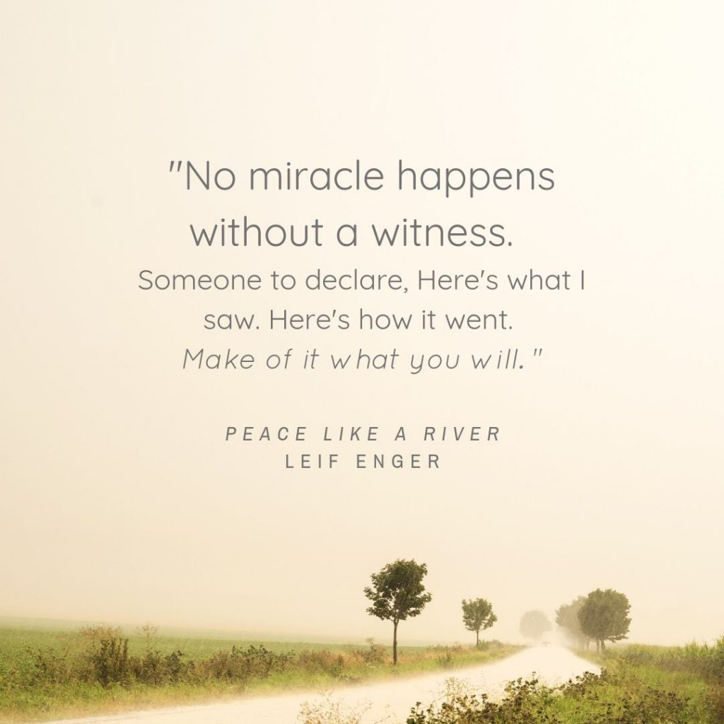 Peace Like a River Quote 2