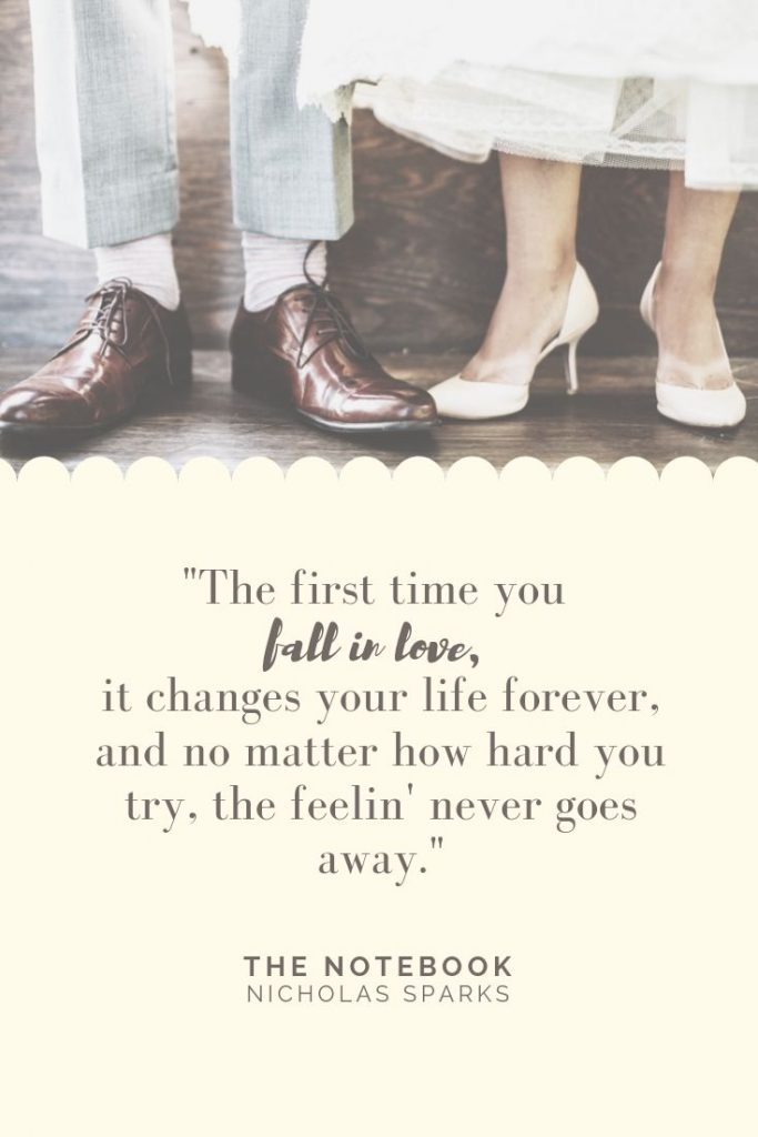 The Notebook Quote about Love