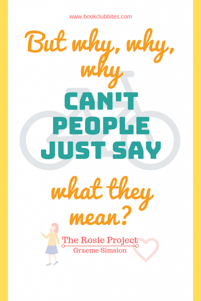 The Rosie Project Quote