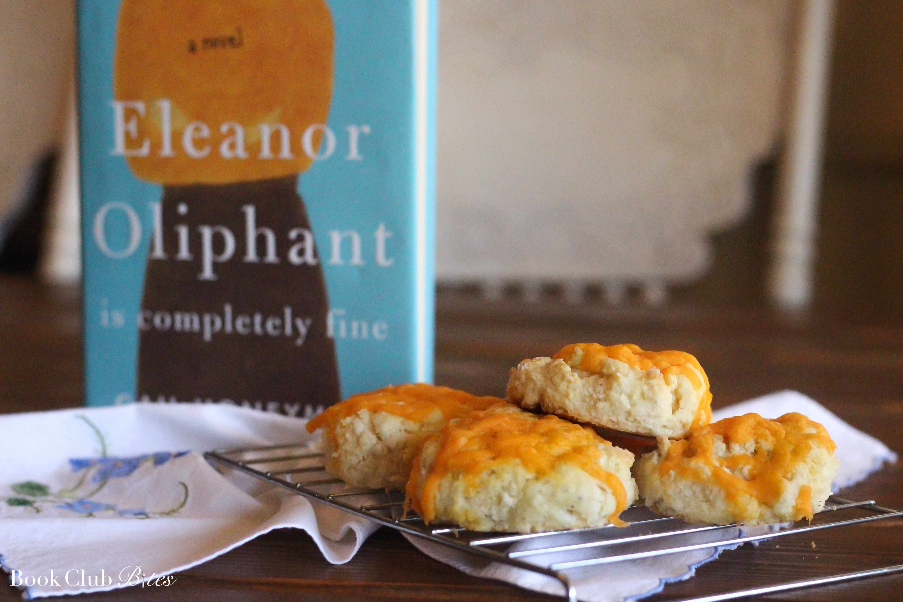 Eleanor Oliphant is Completely Fine Book Club Questions and Recipe Cheese Scones
