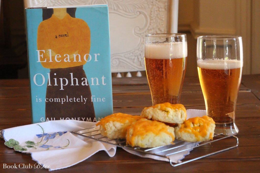 Eleanor Oliphant is Completely Fine Book Club Questions and Recipe Cheese Scones and Magners