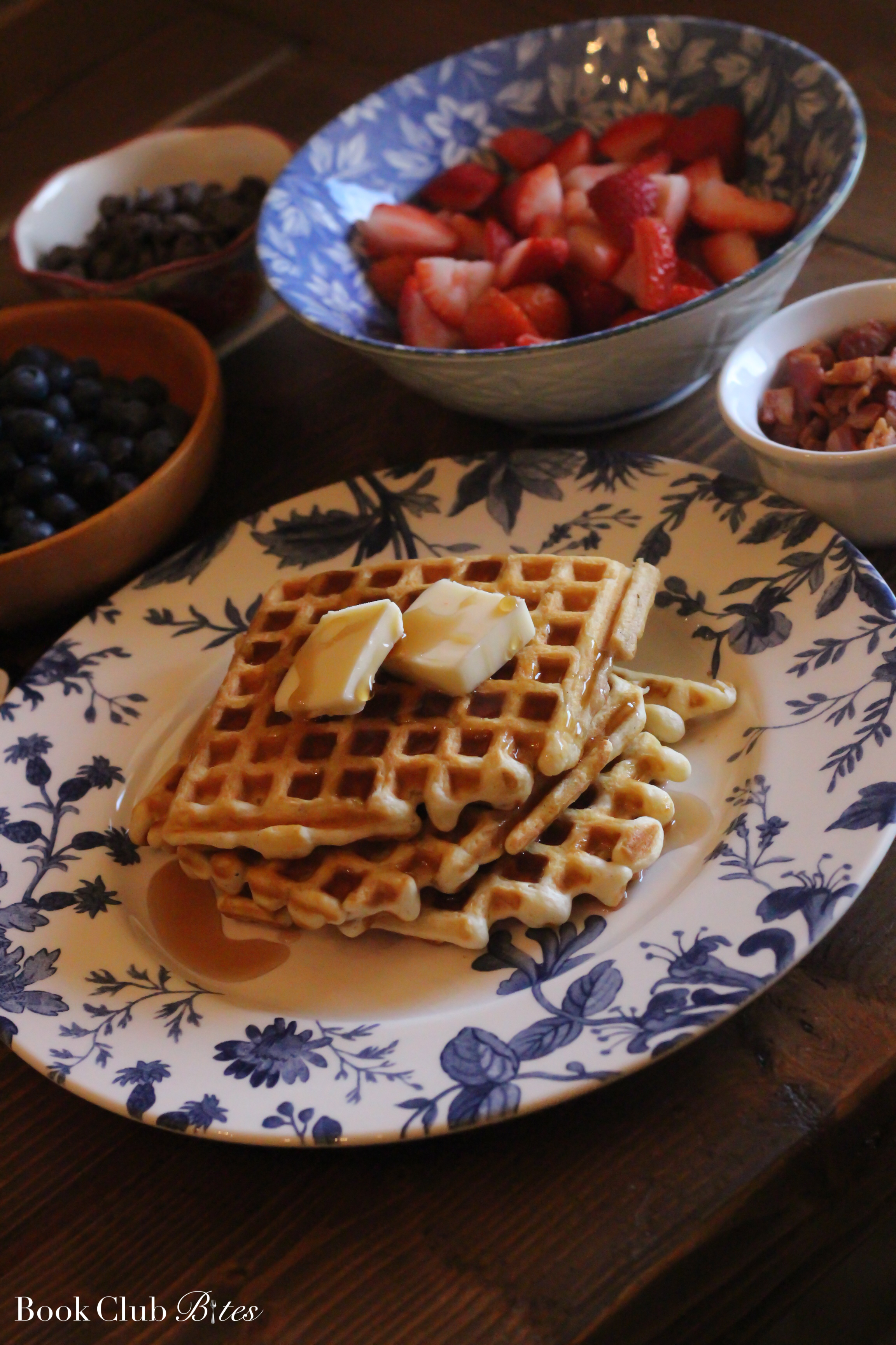 The Light We Lost Book Club Questions and Recipe Waffles