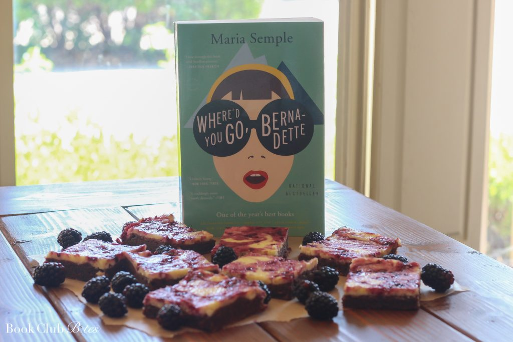 Where'd You Go Bernadette Book Club Questions and Recipe