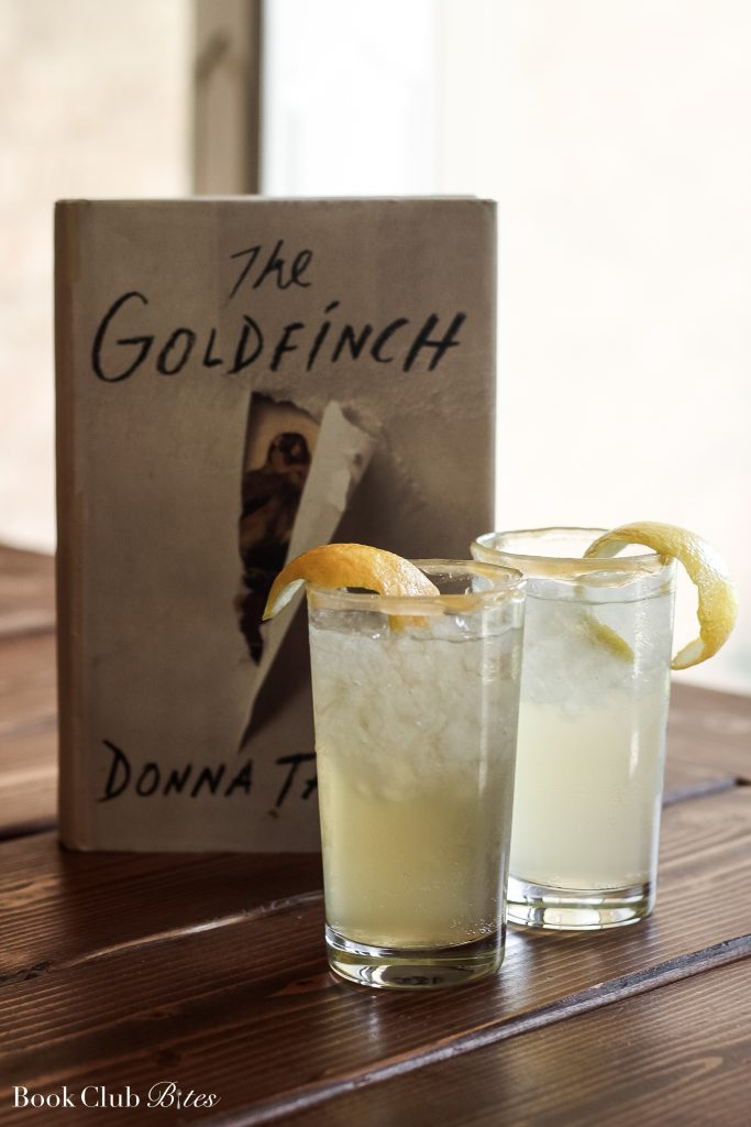 The Goldfinch Book Club Questions and Cocktail Recipe