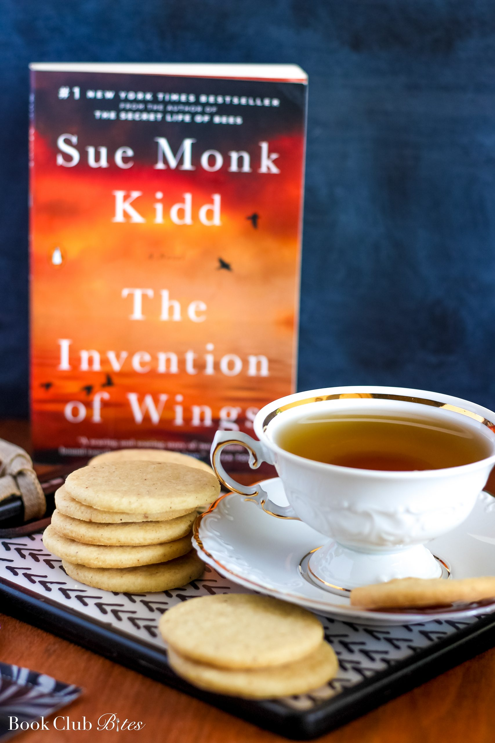 The Invention of Wings Book Club Questions and Recipe Tea Cakes