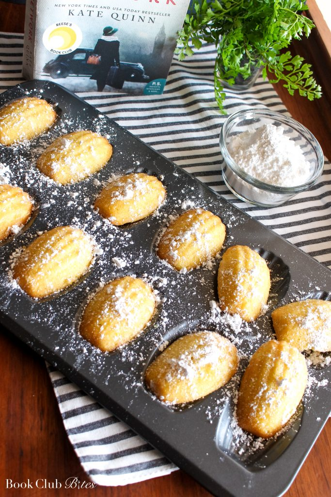 The Alice Network Book Club Questions and Recipe Madeleines
