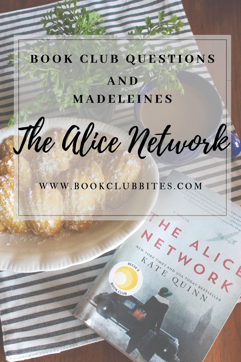 The Alice Network Book Club Questions and Recipe