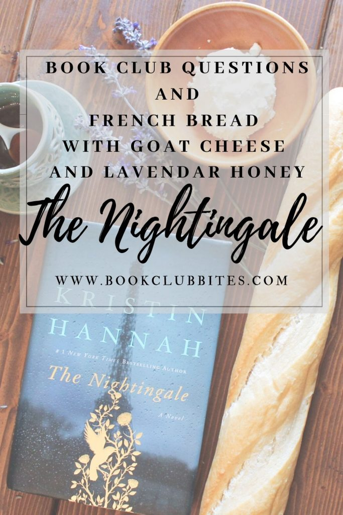 The Nightingale Book Club Questions and Recipe