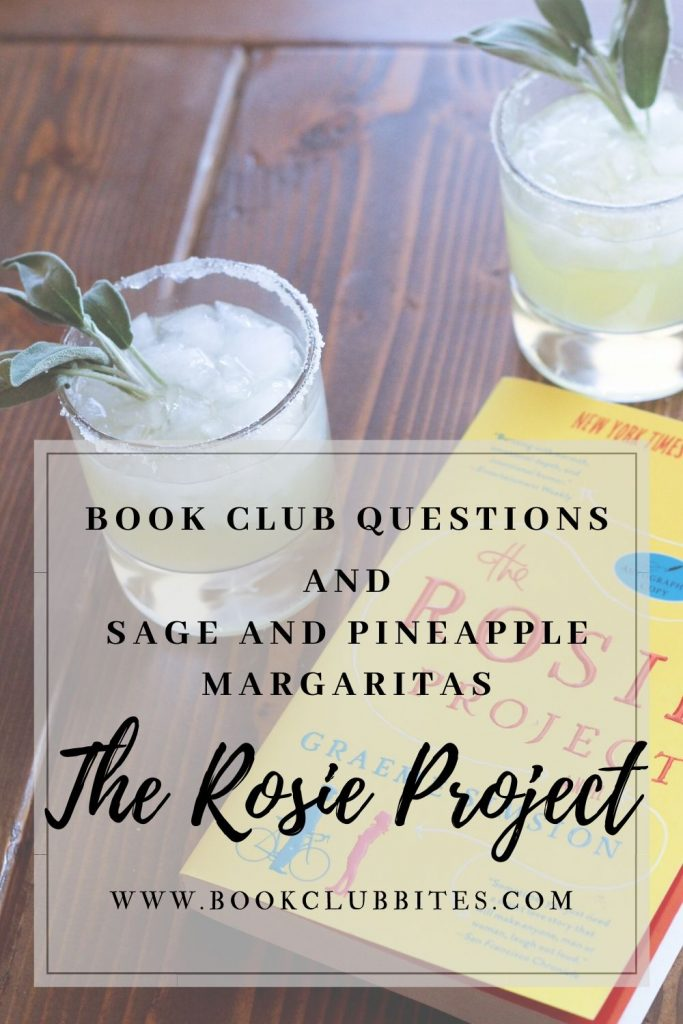The Rosie Project Book Club Questions and Recipe