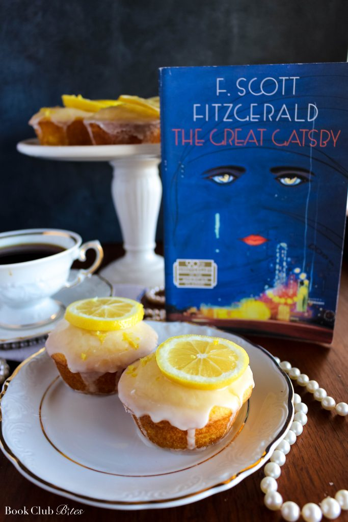 The Great Gatsby Book Club Questions and Lemon Cakes
