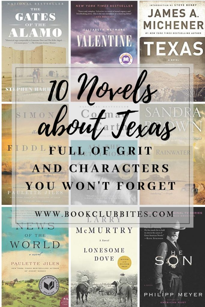 10 Novels about Texas Your Book Club Will Love