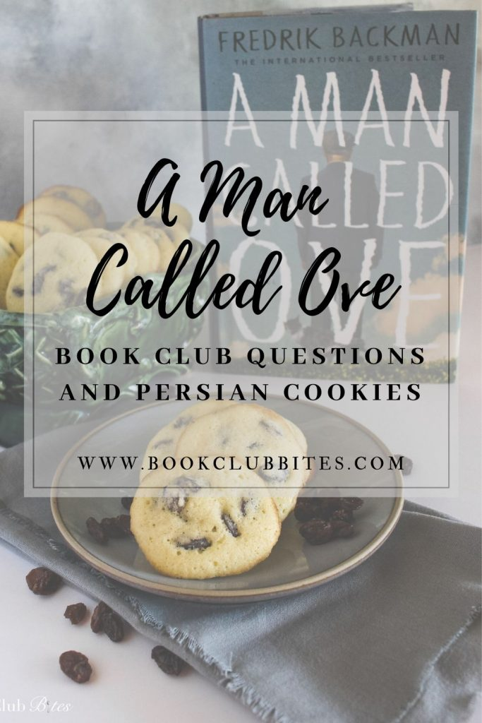 A Man Called Ove Book Club Questions and Persian Cookies