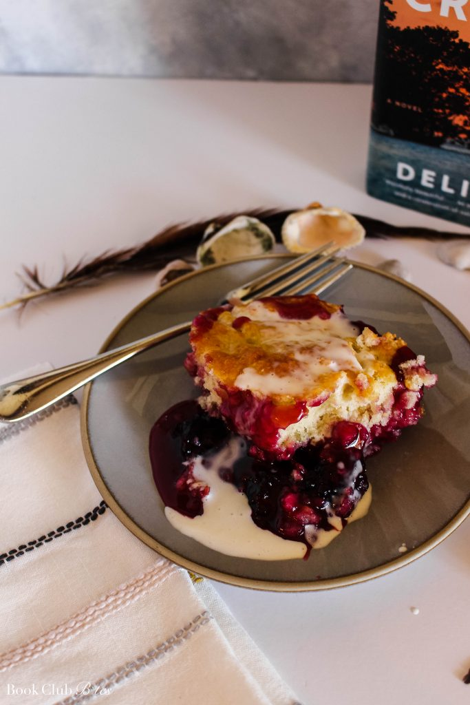 Where the Crawdads Sing Blackberry Cobbler with Hard Cream