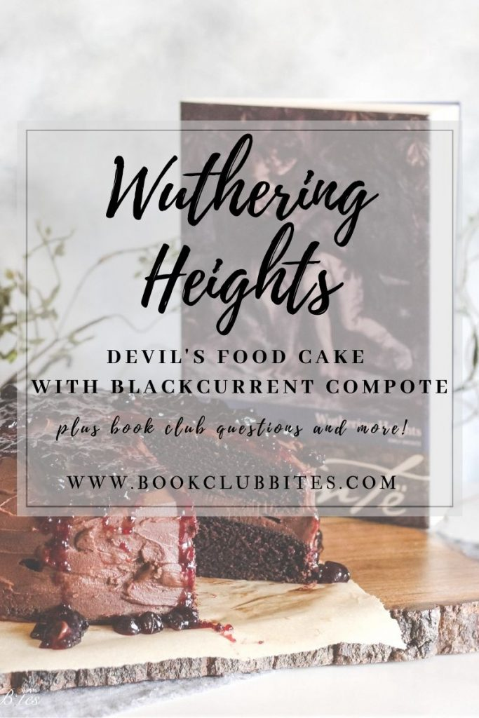 Wuthering Heights Book Club Questions and Recipe
