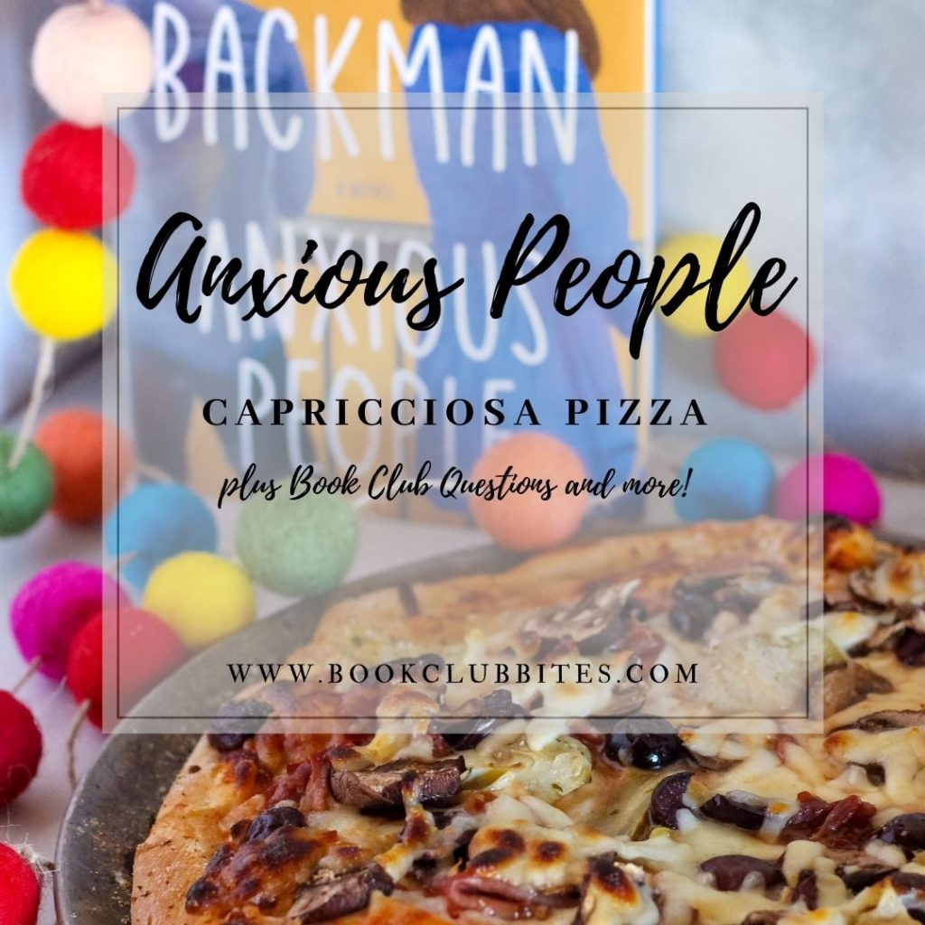 Anxious People Book Club Questions and Recipe