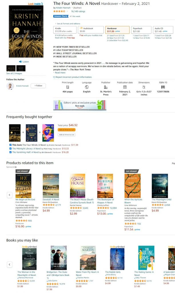 Amazon Book Recommendations