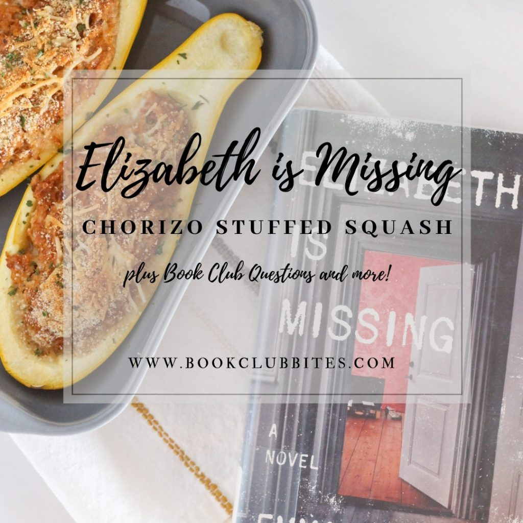 Elizabeth is Missing Book Club Questions and Recipe