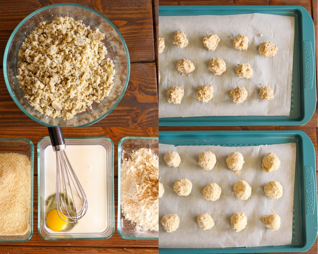 Boudin Balls with Pepper Jack Cheese