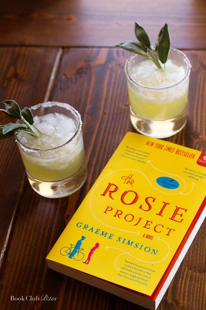 The Rosie Project Sage and Pineapple Margaritas