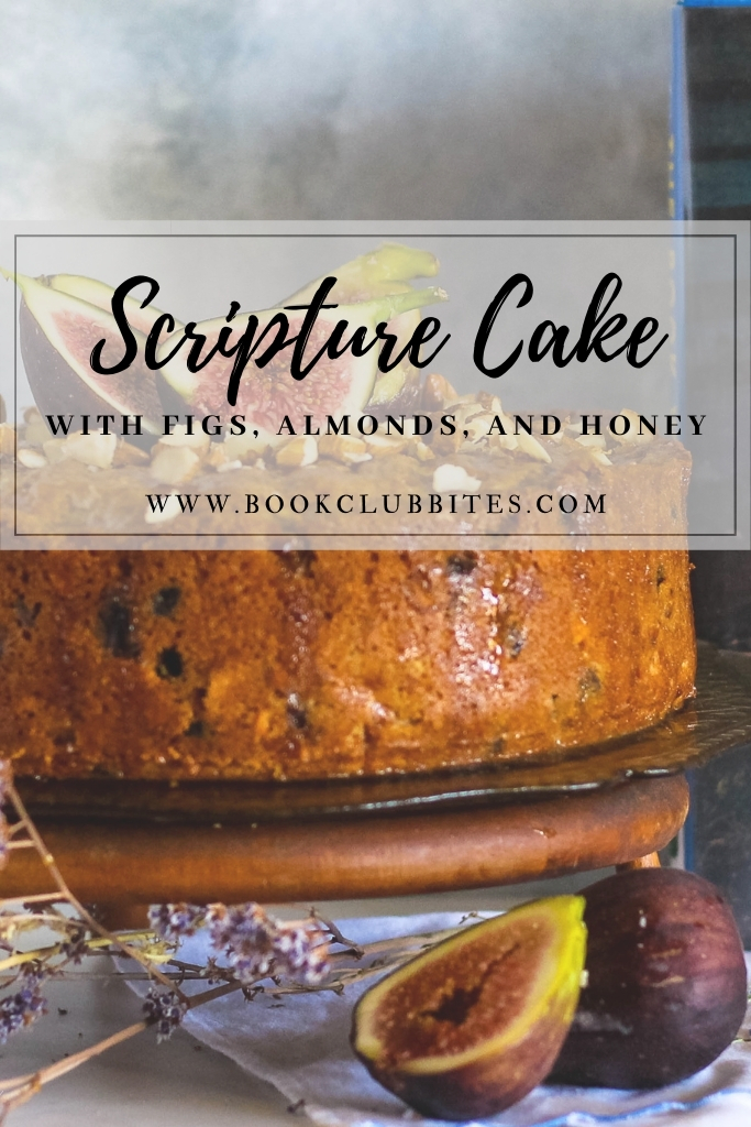 Scripture Cake with Figs, Almonds and Honey