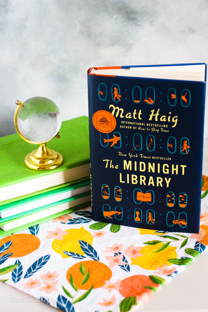 The Midnight Library Book Club Questions and Food Ideas
