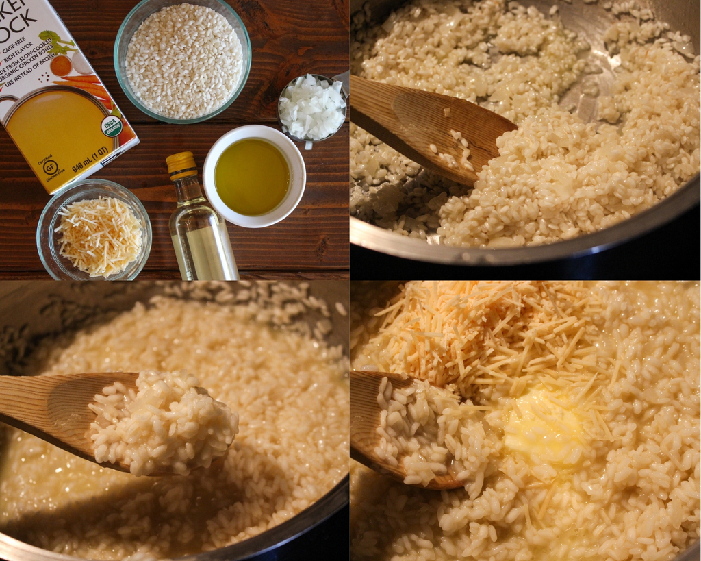 First Steps - Making the Risotto
